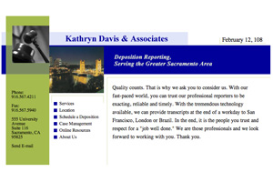 Kathryn Davis Court Reporting